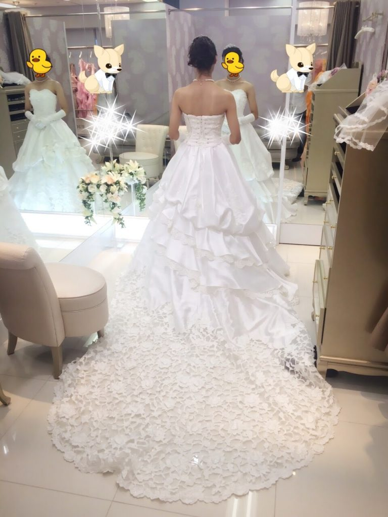 フォーシスアンドカンパニーのウェディングドレス・アリーシャ