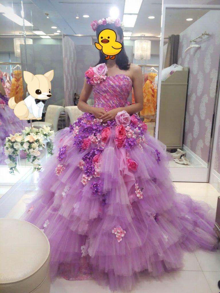 フォーシスアンドカンパニーのカラードレス・CL-199