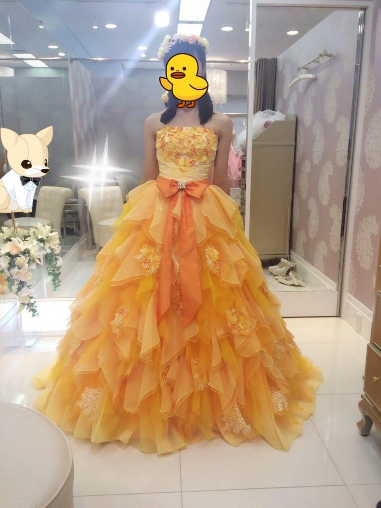フォーシスアンドカンパニーのカラードレス・ポピー・武井咲デザイン