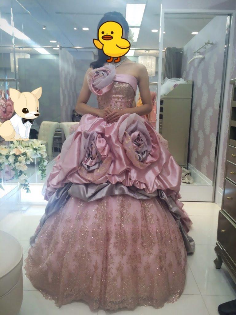 フォーシスアンドカンパニーのカラードレス・リアーナ