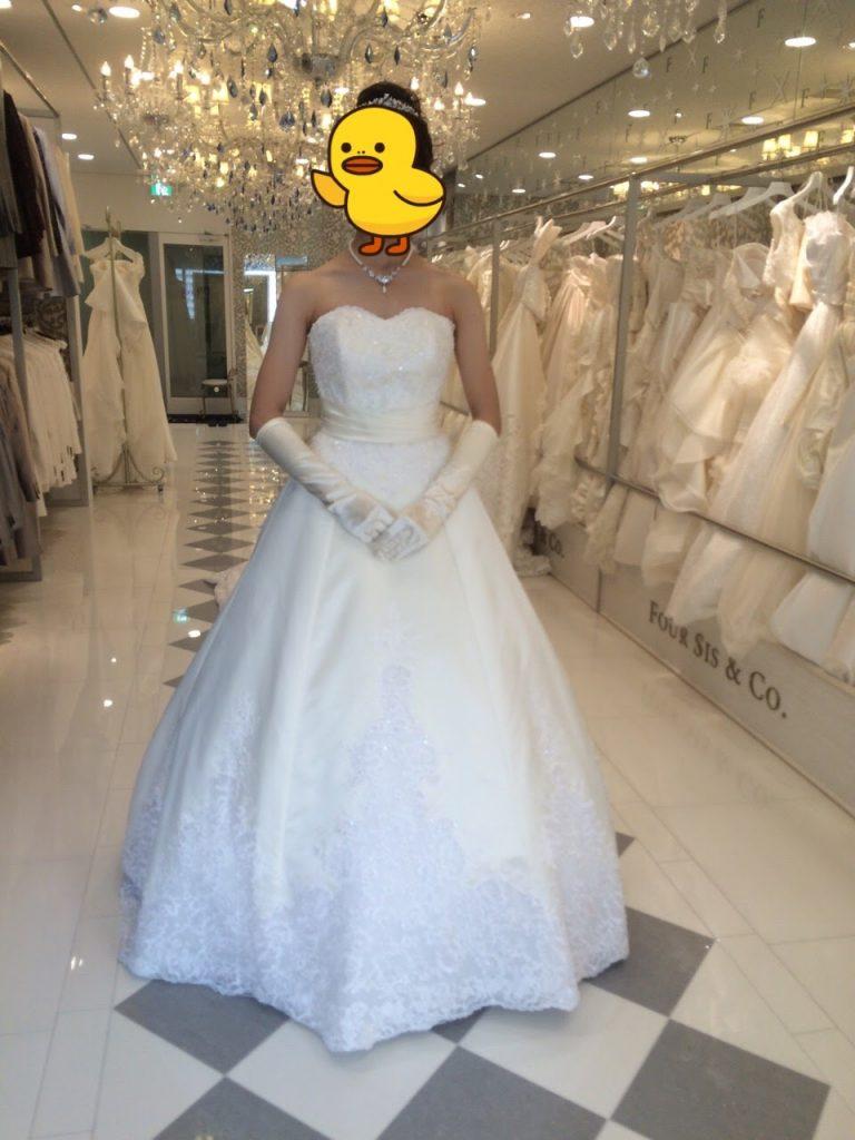 フォーシスアンドカンパニーのウェディングドレス・オーシャン