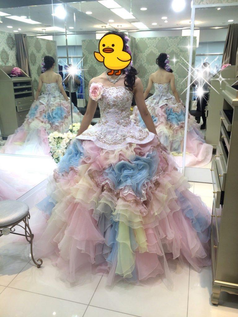 フォーシスアンドカンパニーのカラードレス・メロディ