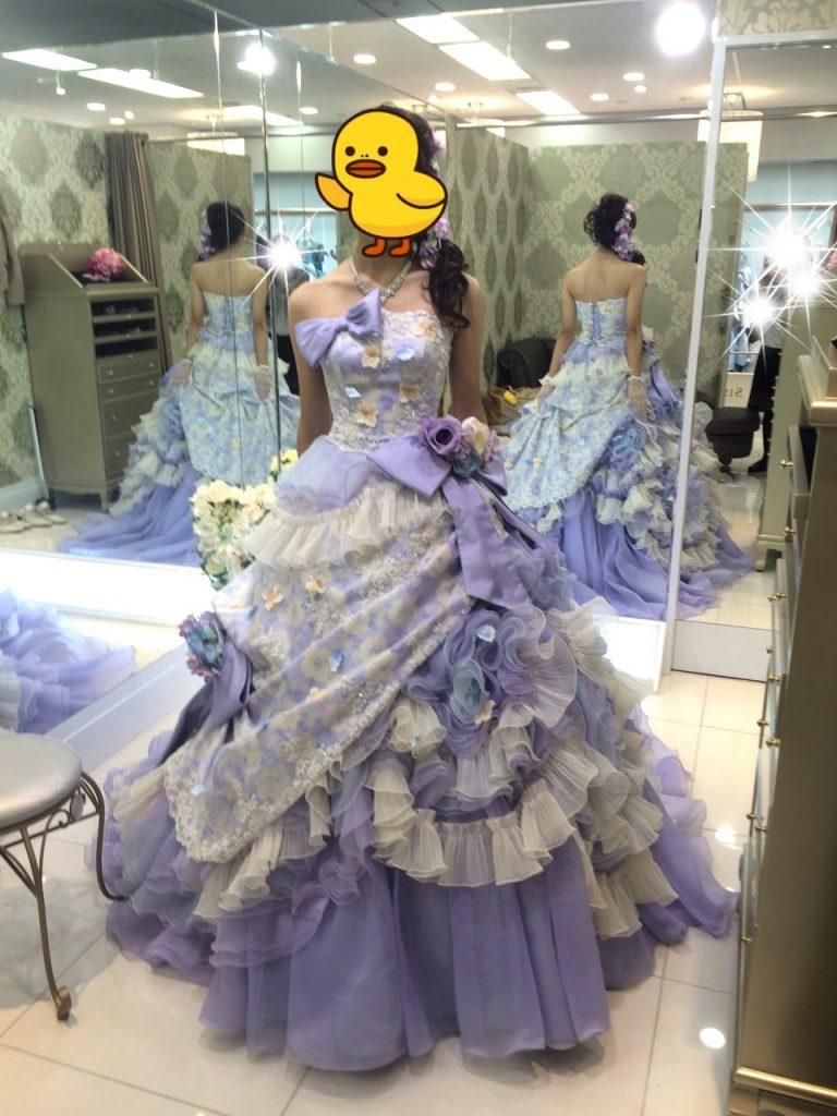 フォーシスアンドカンパニーのカラードレス・パトリシア