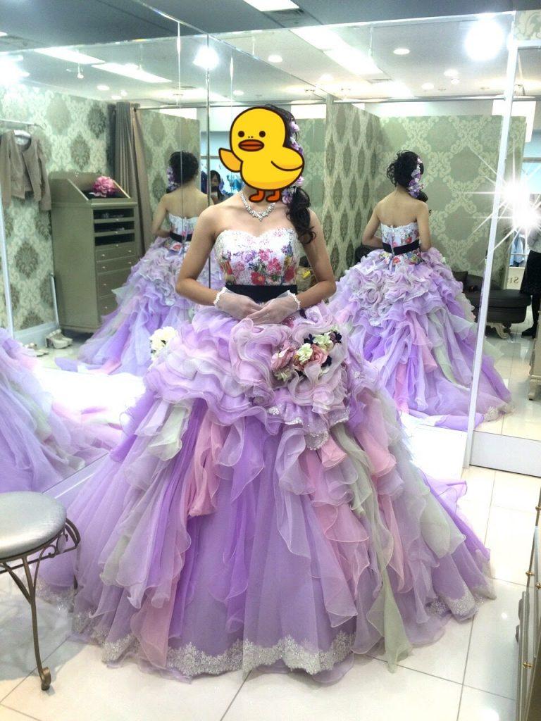 フォーシスアンドカンパニーのカラードレス・コニータ・篠田麻里子デザイン