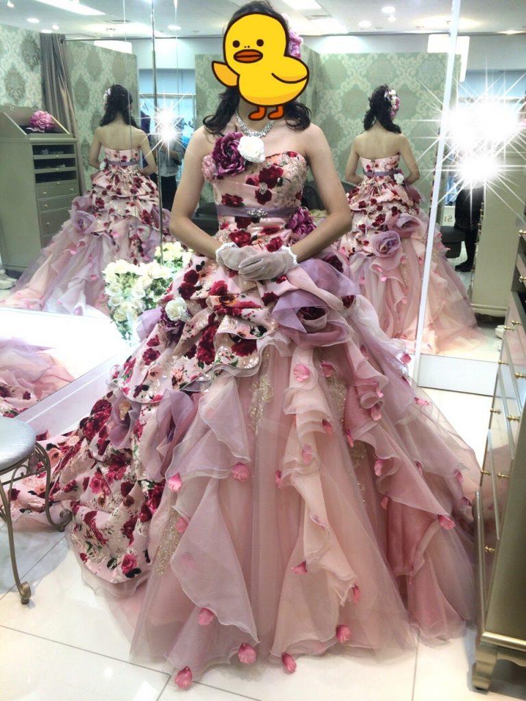 フォーシスアンドカンパニーのカラードレス・ミランダ・神田うのドレス