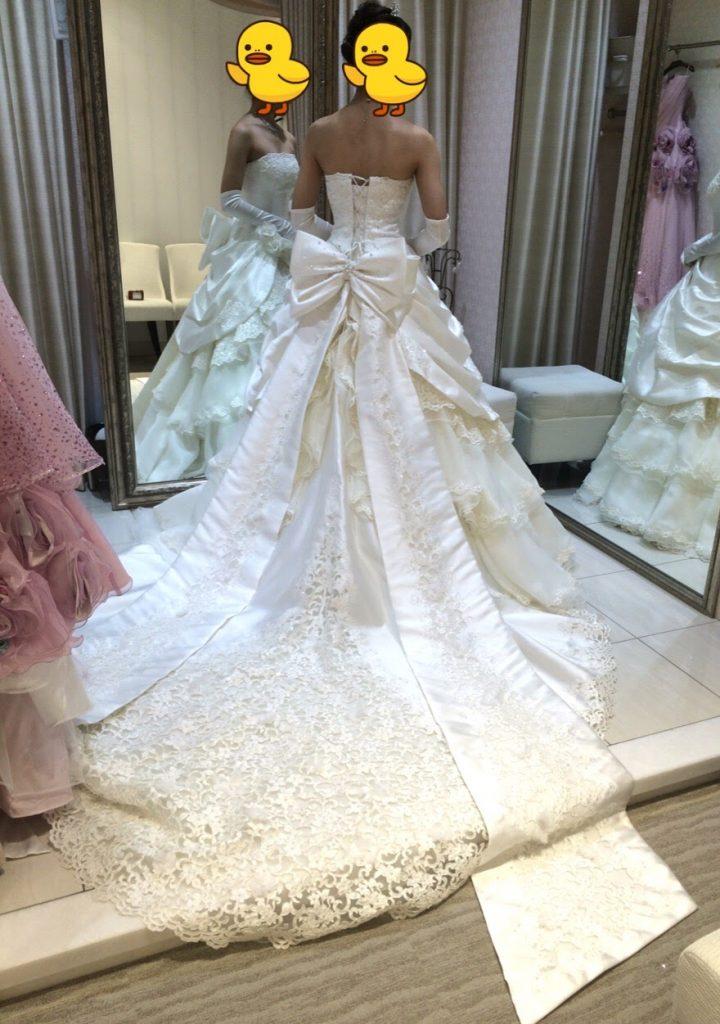 タカミブライダルのウェディングドレス・シルヴァナ