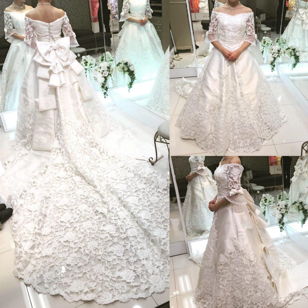 フォーシスアンドカンパニーのウェディングドレス・ハーパー