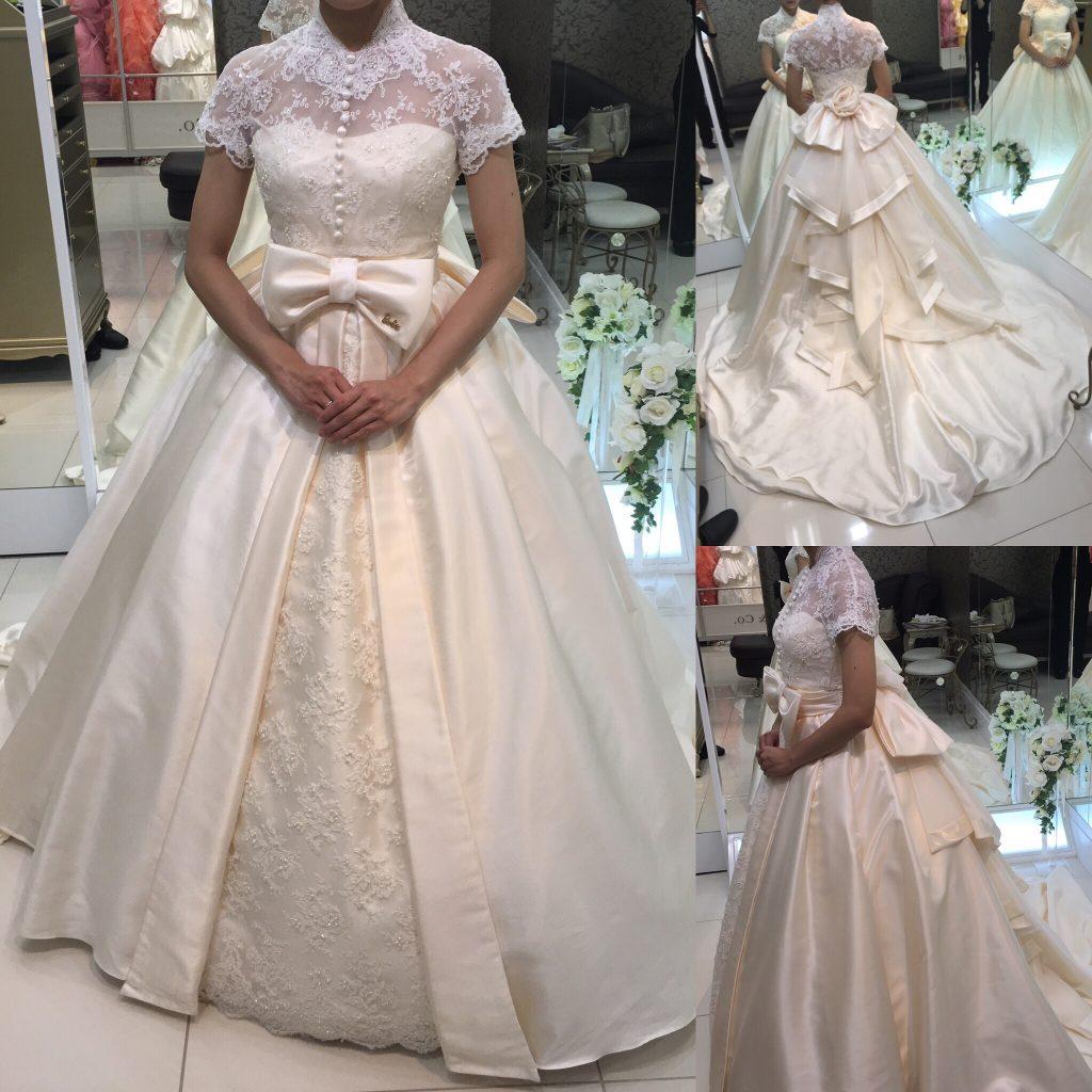 フォーシスアンドカンパニーのウェディングドレス・ケイト(バービー)