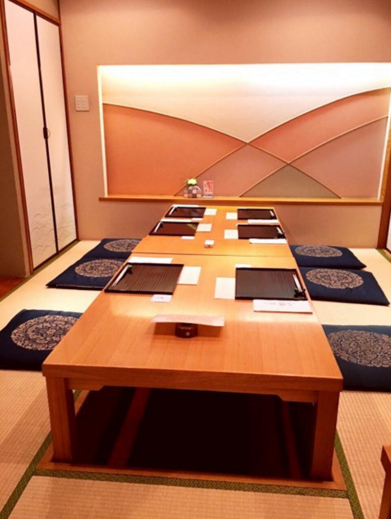 両家顔合わせ食事会の会場。ホテルキャメロットジャパン