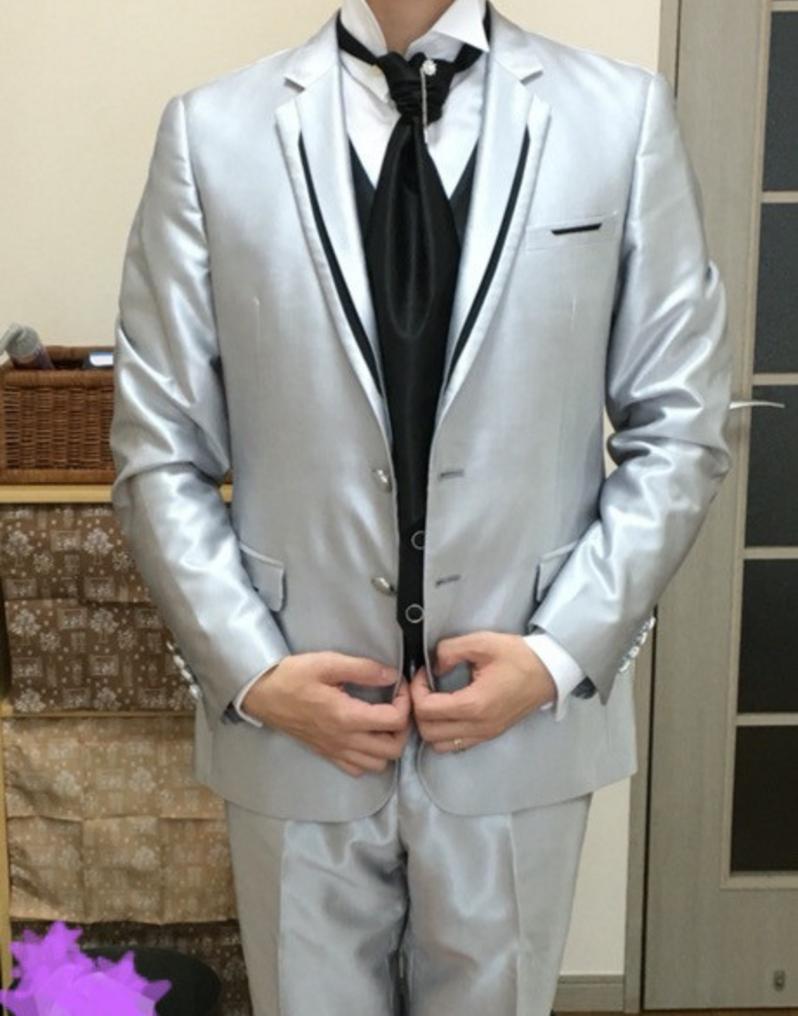 YNS weddingのタキシード
