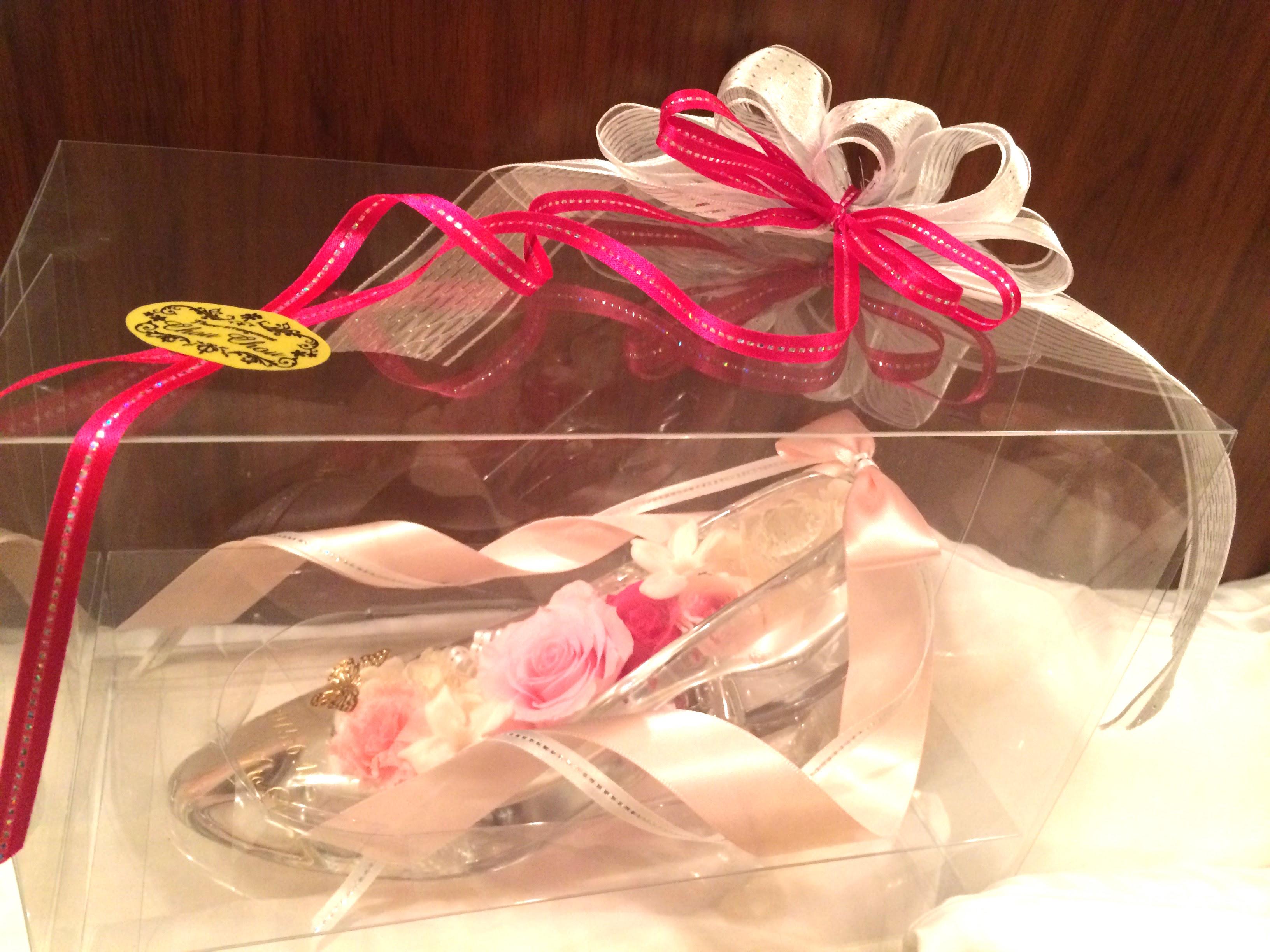 プロポーズ、ガラスの靴