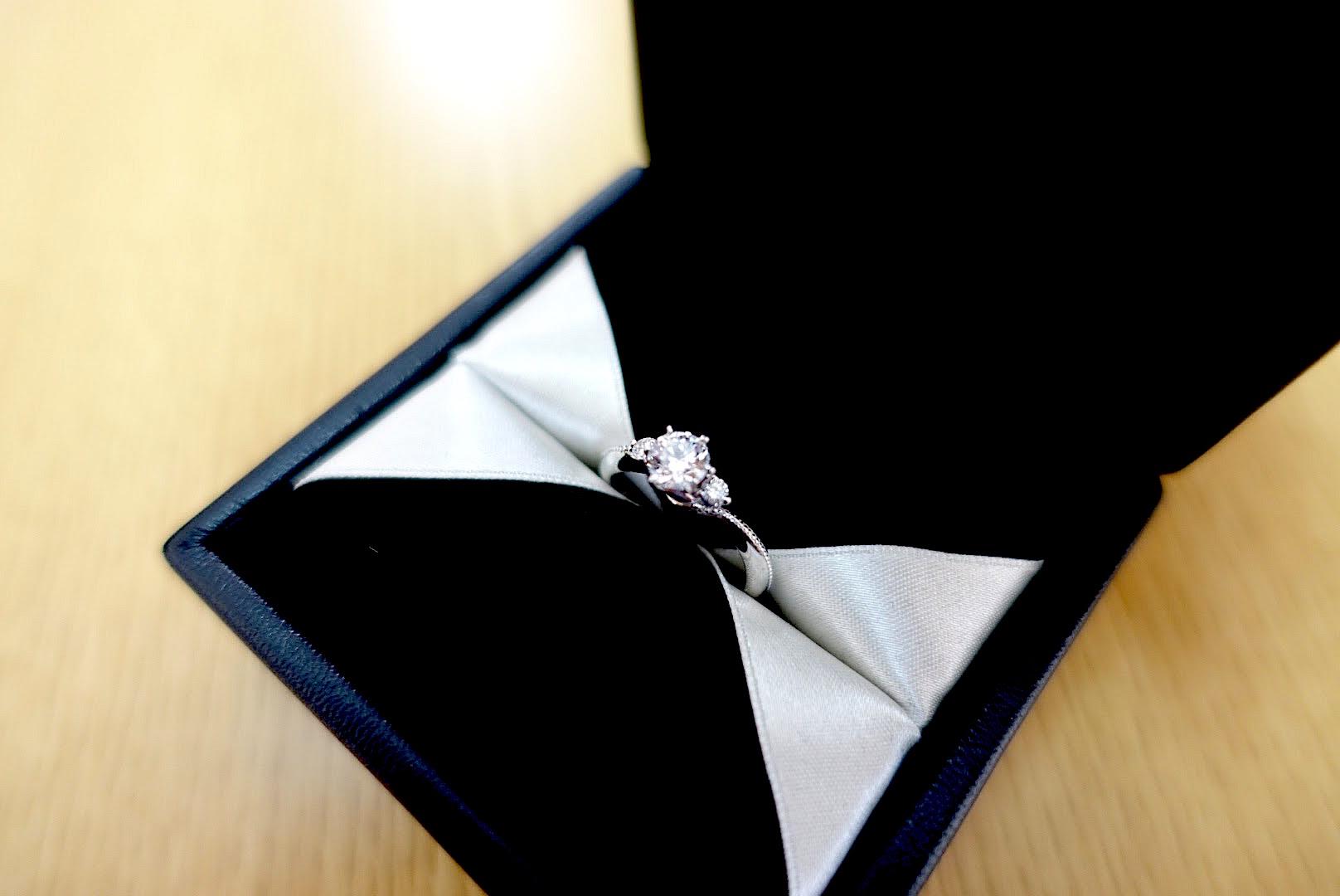 エクセルコダイヤモンドの婚約婚約ボヌール