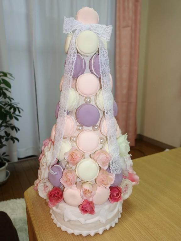 結婚式マカロンタワー(マカロンツリー)の作り方