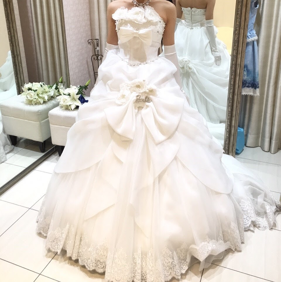 タカミブライダルのウェディングドレス、プレシャスバービー