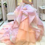 タカミブライダルのカラードレス、ピンクリーディエ