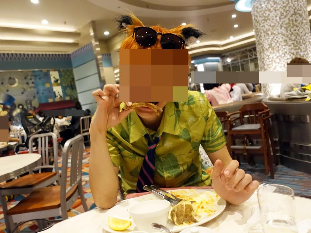 センターストリートコーヒーハウスで夕食(東京ディズニーランド)レポ