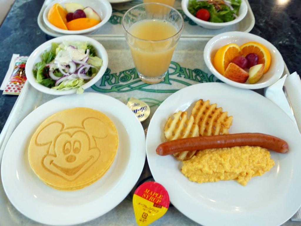 クリスタルパレスレストラン朝食キャラクターブレックファーストブレックファーストレポ