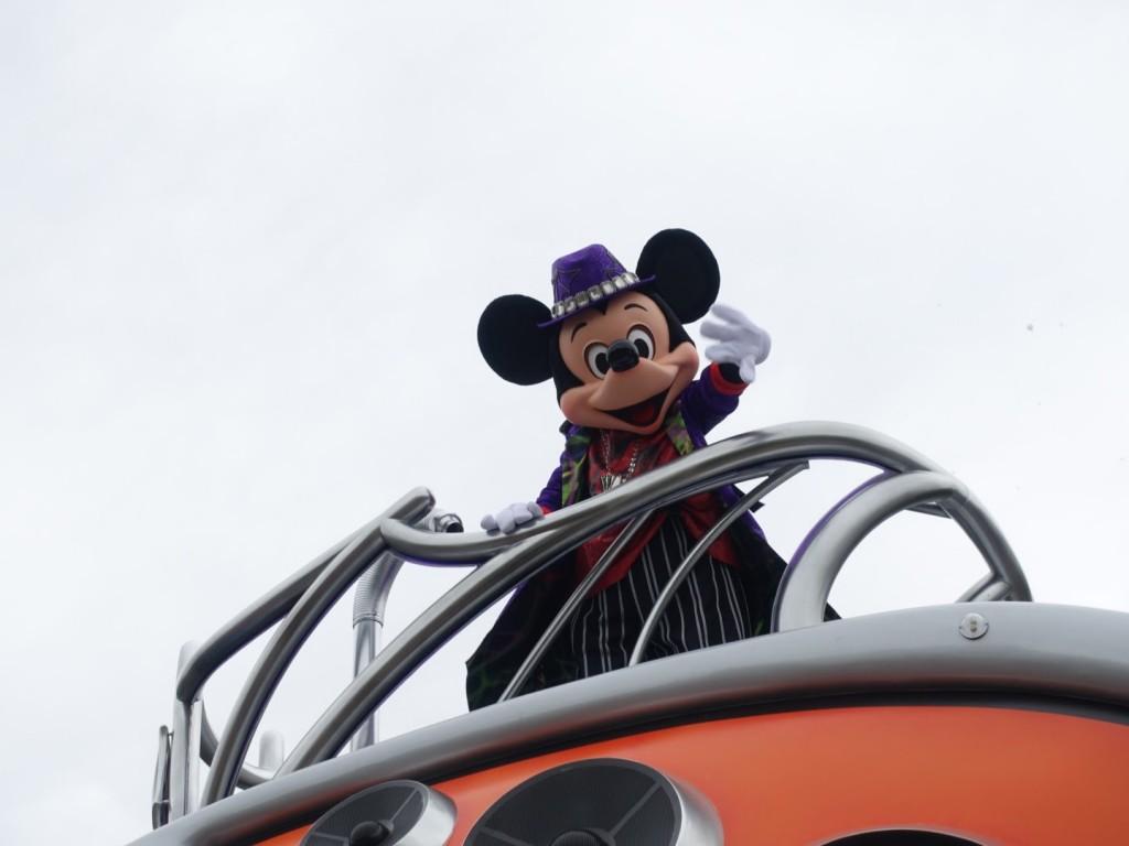 ハロウィーンポップンライブ 東京ディズニーランドハロウィン2016パレード鑑賞レポ