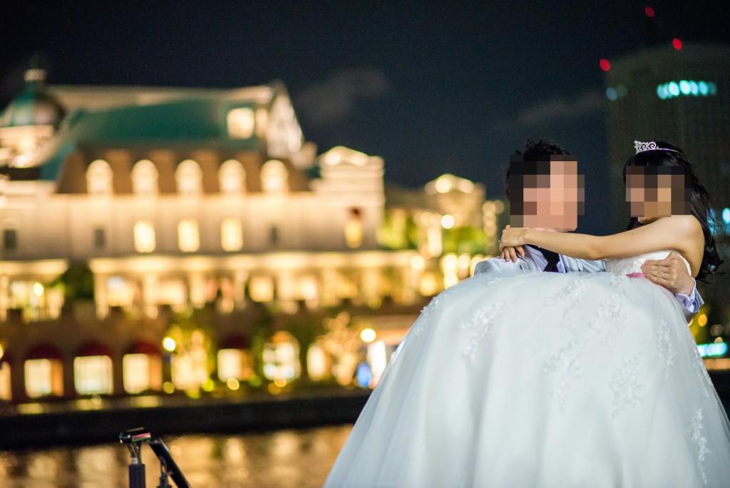 みなとみらい 結婚式前撮り(アニヴェルセルみなとみらい横浜 プレ花嫁)