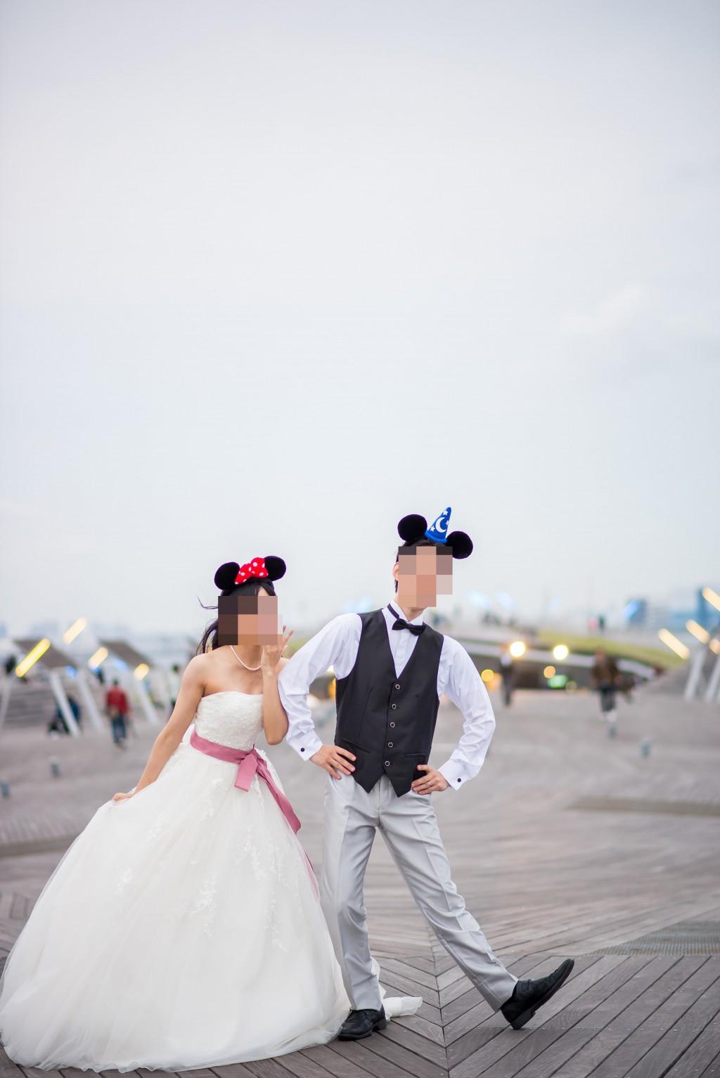 みなとみらい 大さん橋 結婚式前撮り(アニヴェルセルみなとみらい横浜 プレ花嫁)