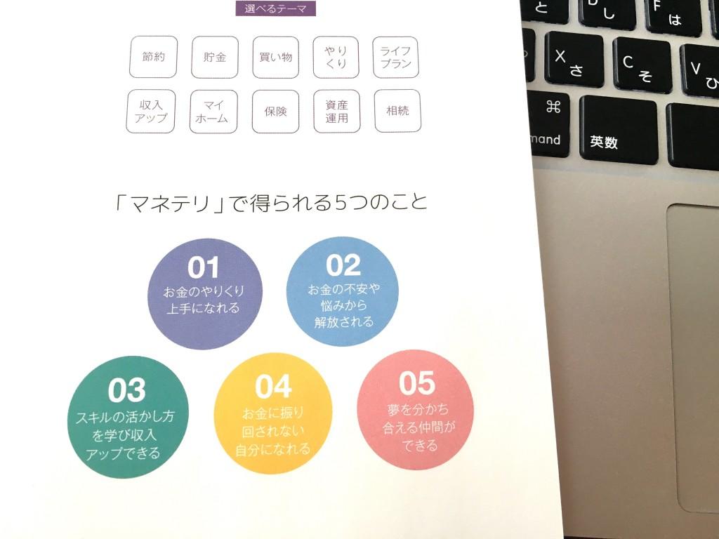 ファイナンシャルアカデミー「マネテリ」口コミ(体験レポート)