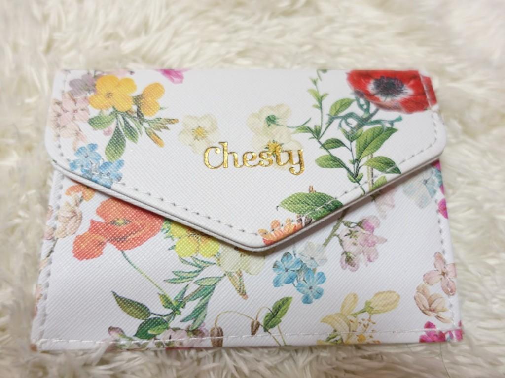 美人百花12月号 付録 chesty(チェスティ)マルチミニ財布