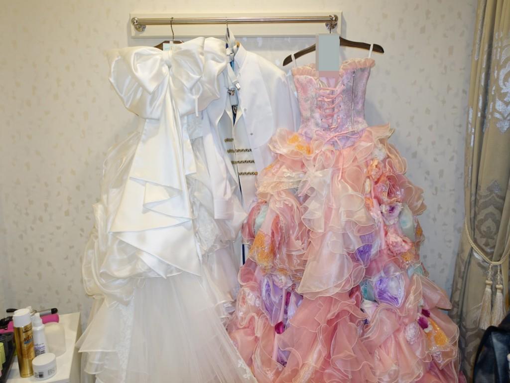 アニヴェルセルみなとみらい横浜結婚式当日レポブログ ブライズルームにて
