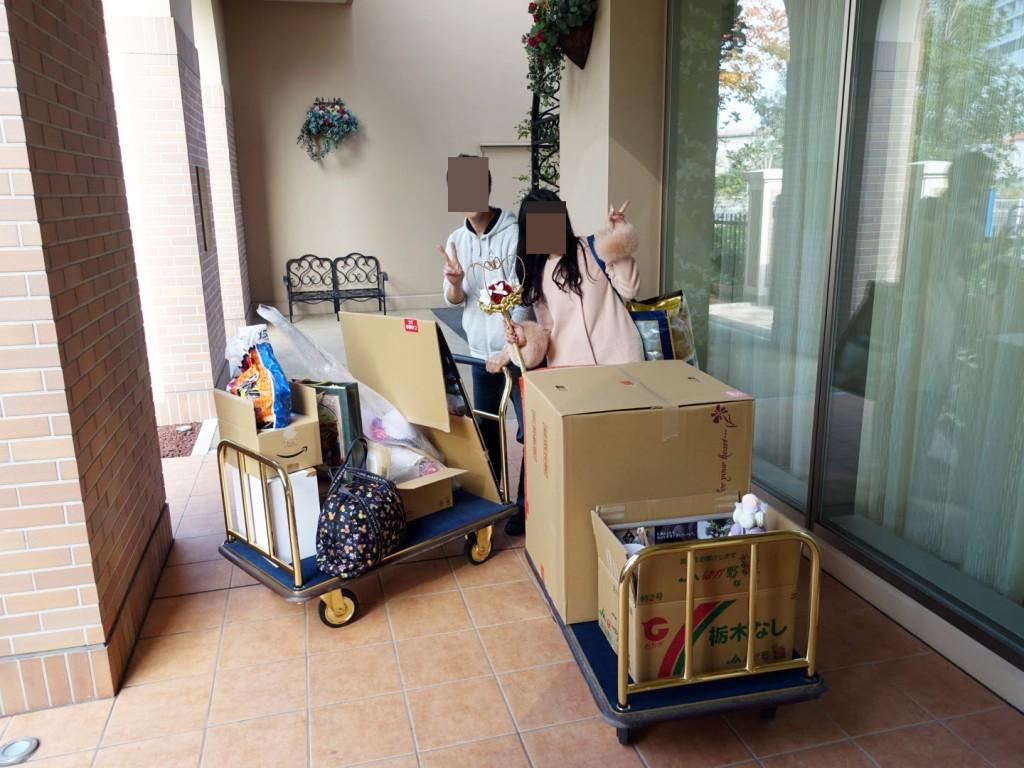 アニヴェルセルみなとみらい横浜結婚式前日グッズ搬入レポ