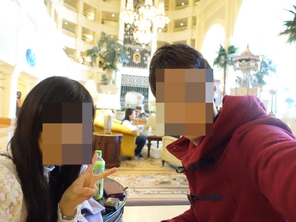 ドリーマーズラウンジ(東京ディズニーランドホテル)でクリスマス アフタヌーンティー