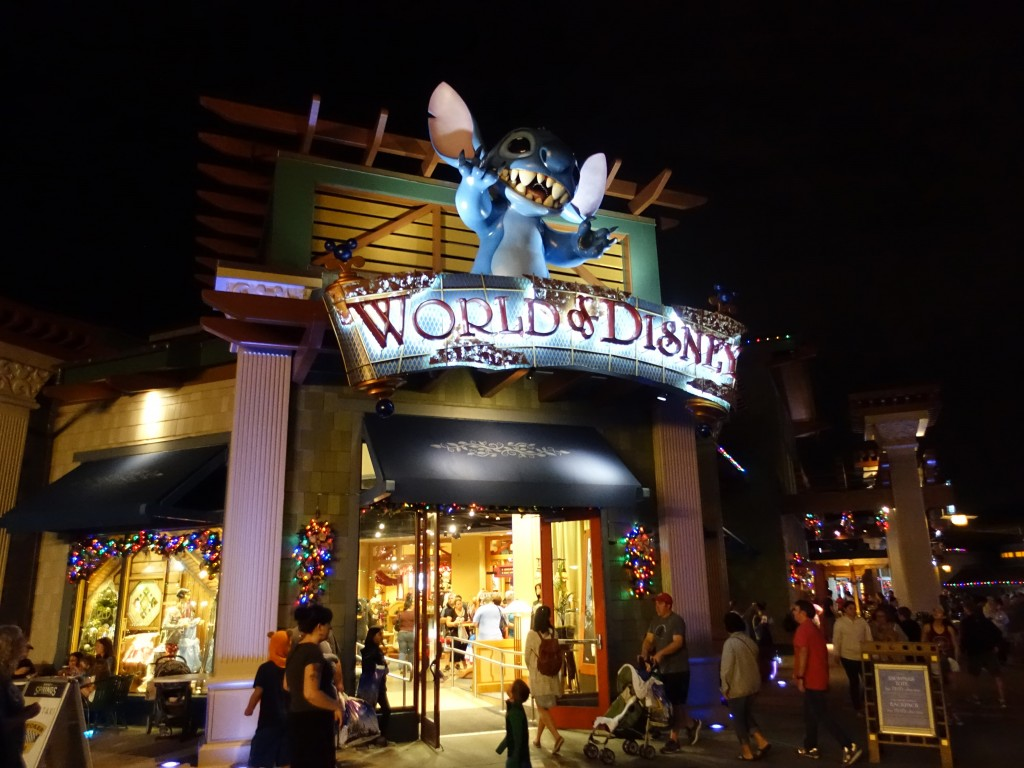 WDW旅行記ブログ/DCL旅行記ブログ ディズニースプリングス
