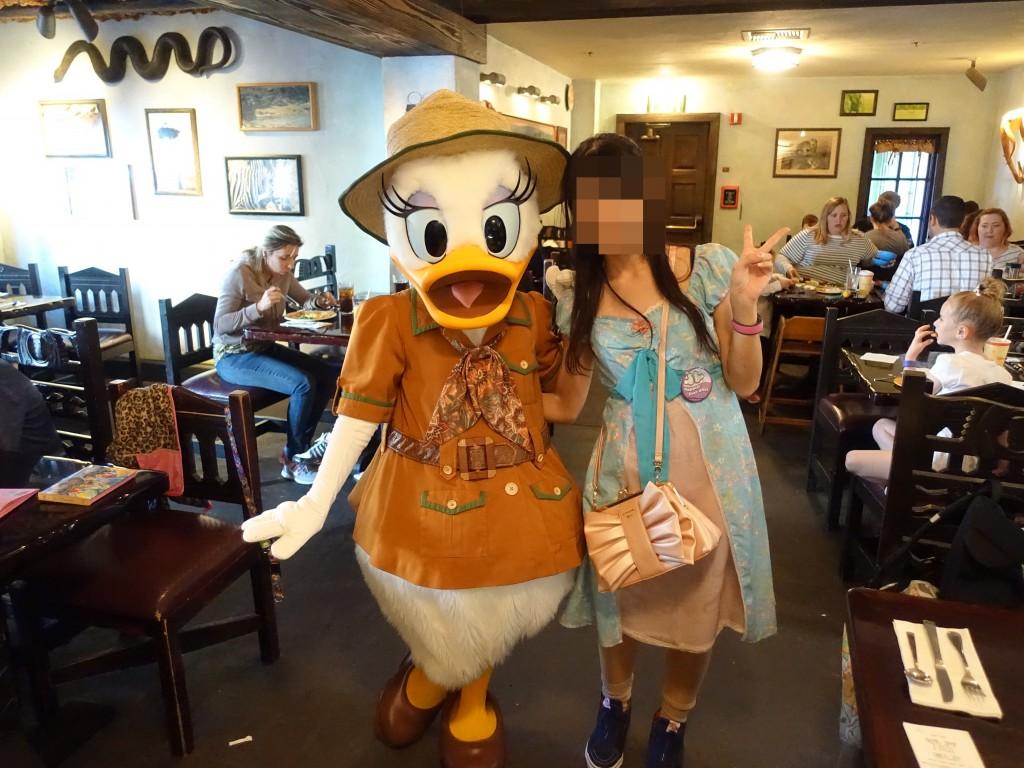 WDW旅行記ブログ/DCL旅行記ブログ アニマルキングダム タスカーハウスレストラン