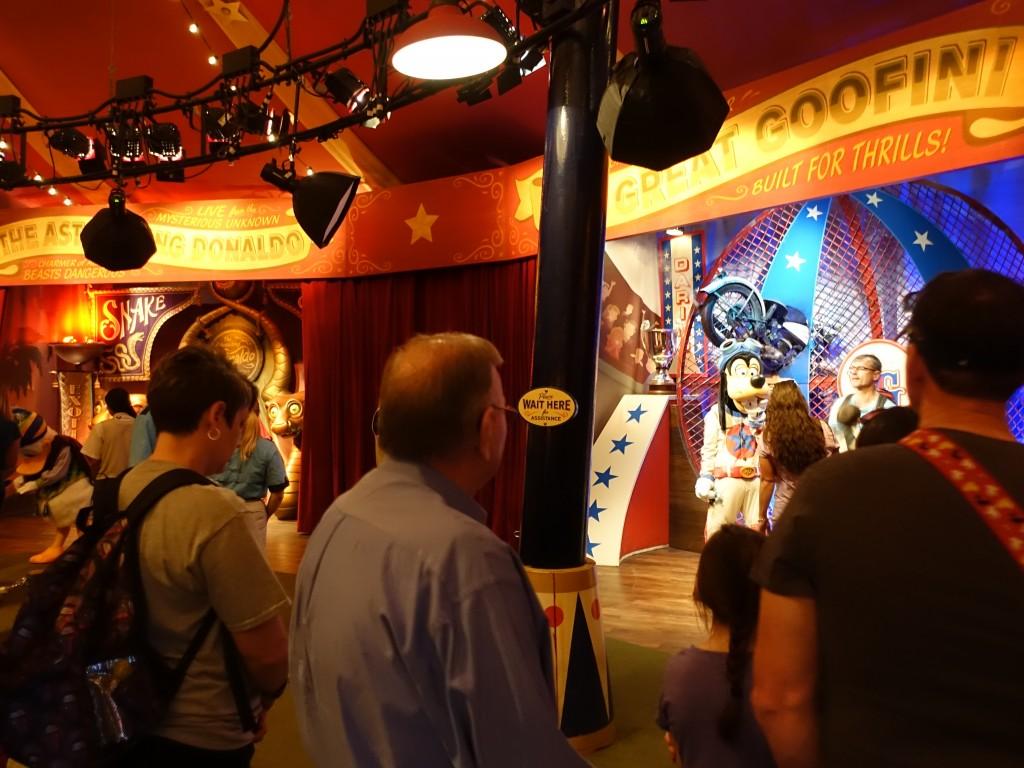 WDW旅行記ブログ/DCL旅行記ブログ マジックキングダム キャラクターグリーティング(ピートのシリーサイドショー)