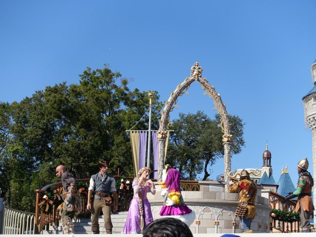 WDW旅行記ブログ/DCL旅行記ブログ マジックキングダム ミッキーのロイヤルフレンドシップフェア