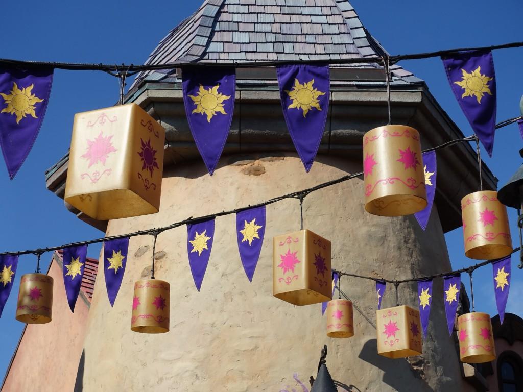 WDW旅行記ブログ/DCL旅行記ブログ マジックキングダム ラプンツェルエリア