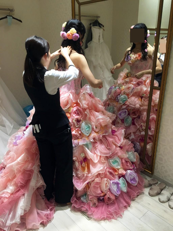 アニヴェルセルみなとみらい横浜 結婚式レポブログ ヴィラスウィートでの披露宴 お色直し部屋