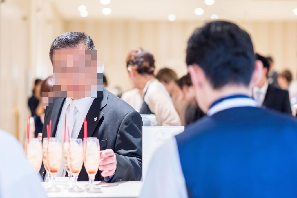アニヴェルセルみなとみらい横浜 結婚式レポブログ ウェルカムパーティー&ヴィラスウィート会場装花、会場コーディネート