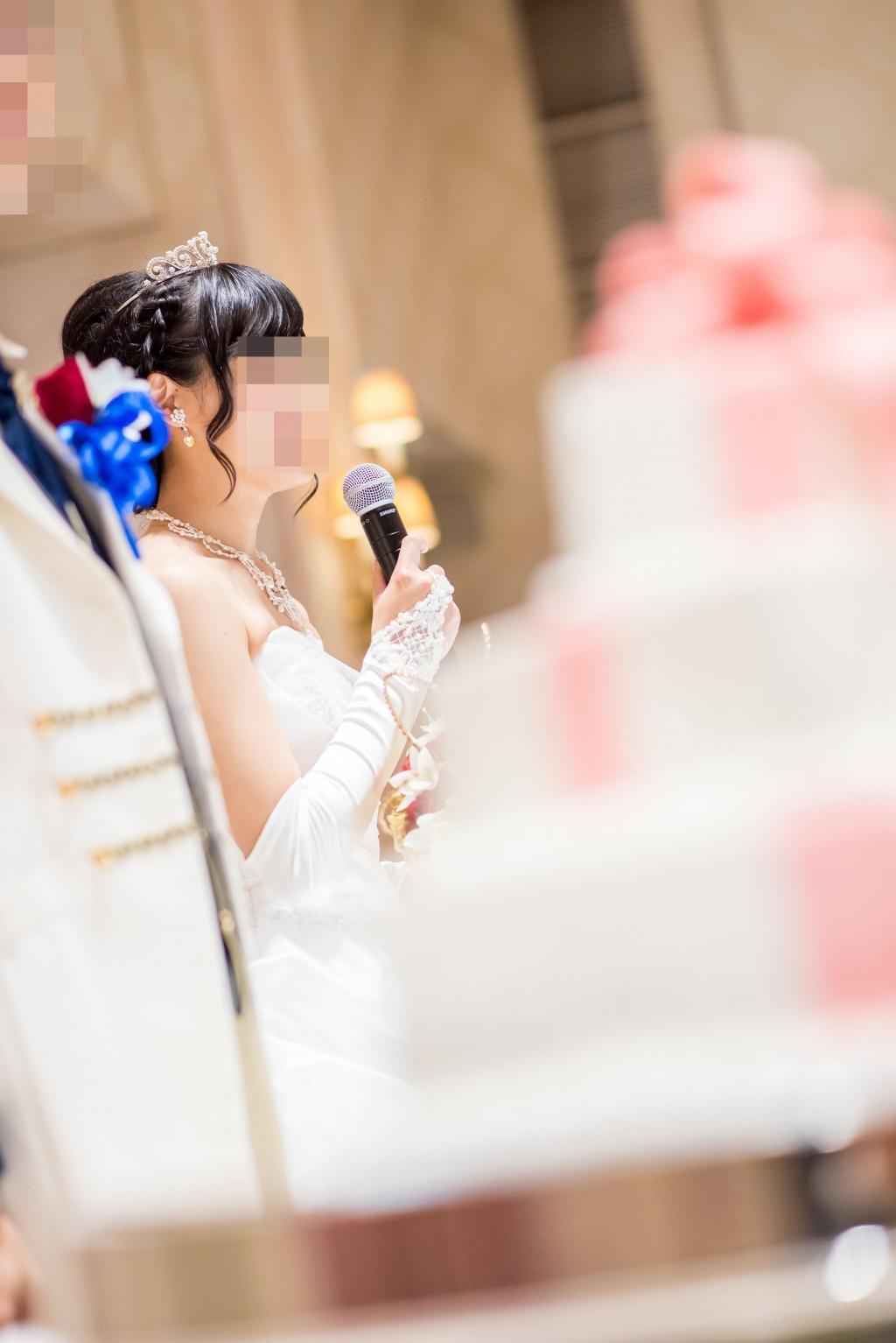 アニヴェルセルみなとみらい横浜 結婚式レポブログ ヴィラスウィート披露宴ウェルカムスピーチ、新郎新婦プロフィール紹介
