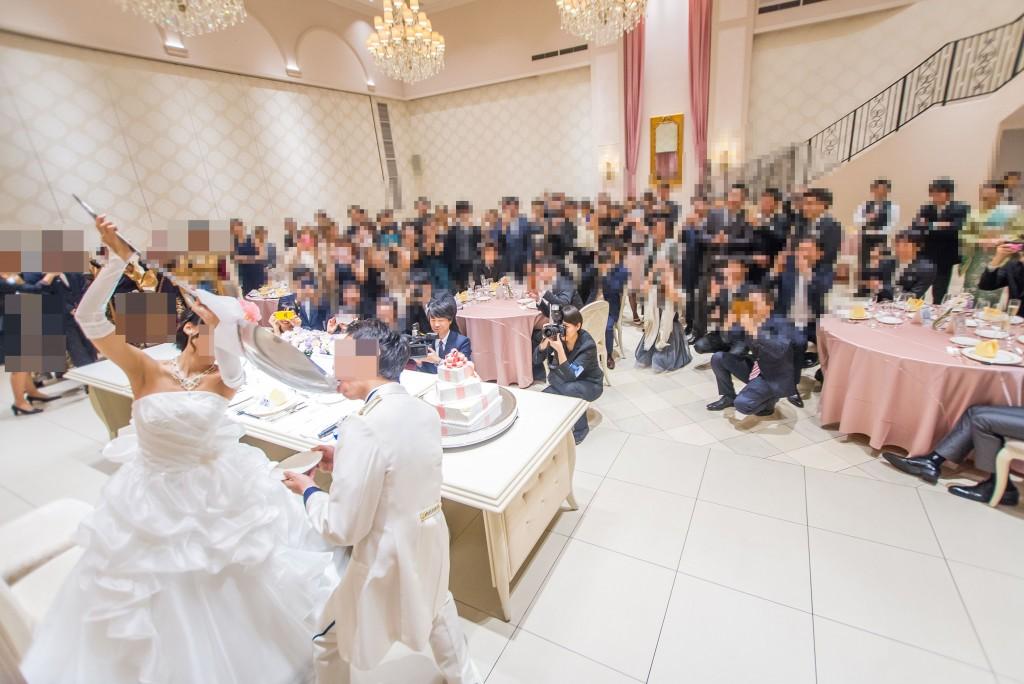 アニヴェルセルみなとみらい横浜 結婚式レポブログ ヴィラスウィート披露宴 ビッグスプーンでファーストバイト