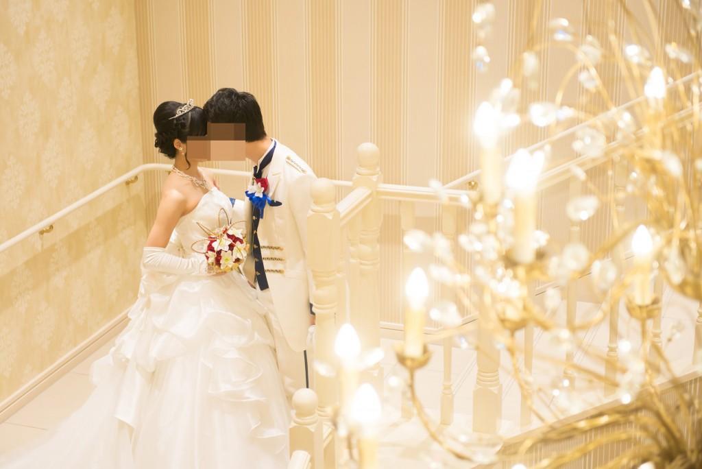アニヴェルセルみなとみらい横浜 結婚式レポブログ 披露宴会場ヴィラスウィートでの前撮り風写真撮影