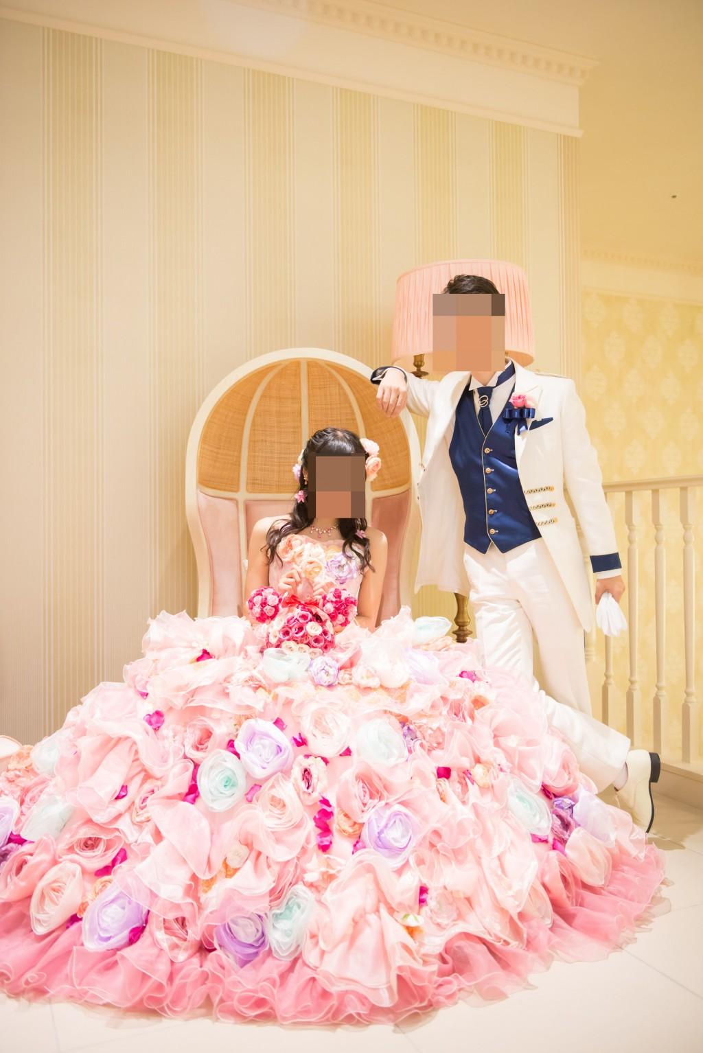 アニヴェルセルみなとみらい横浜 結婚式レポブログ ヴィラスウィートでの披露宴 お色直し撮影