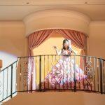 アニヴェルセルみなとみらい横浜 結婚式レポブログ ヴィラスウィートでの披露宴 大階段からの再入場