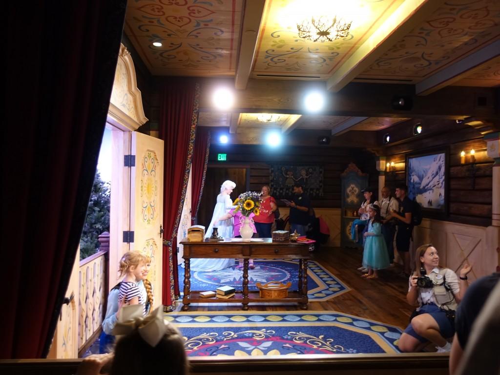 WDW旅行記ブログ/DCL旅行記ブログ エプコット ワールドショーケース ノルウェー館(アナとエルサのグリーティング、フローズンエバーアフター)