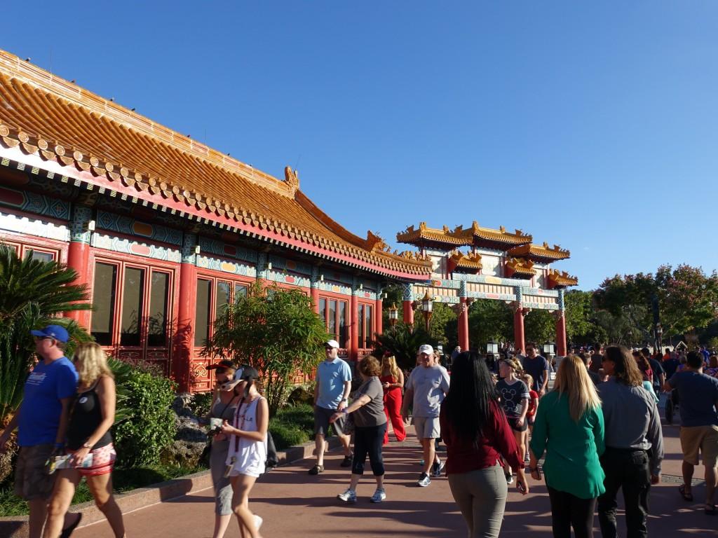 WDW旅行記ブログ/DCL旅行記ブログ エプコット ワールドショーケース 中国館 ムーランとグリーティング