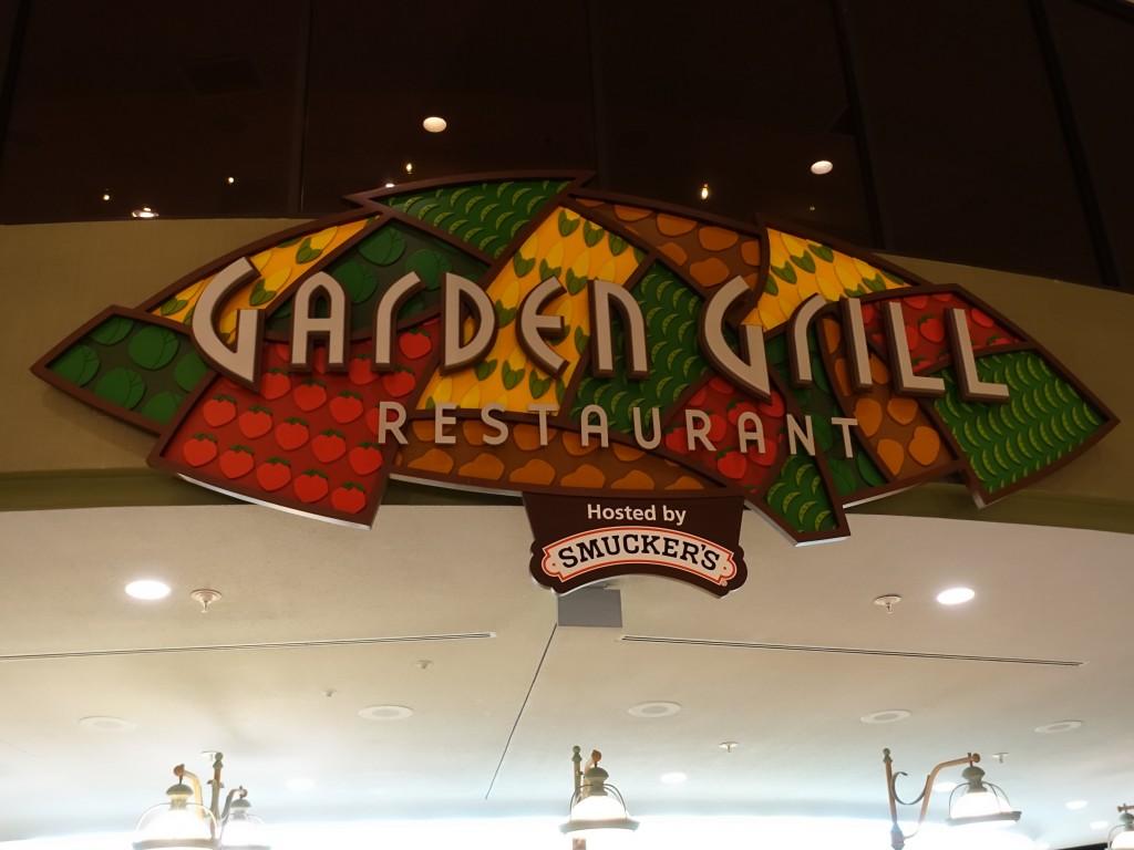 WDW旅行記ブログ/DCL旅行記ブログ エプコット ガーデングリルレストランでディナー(キャラクターダイニング)