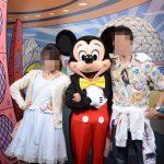 WDW旅行記ブログ/DCL旅行記ブログ エプコットキャラクタースポット ミッキー・ミニー・グーフィーグリーティング