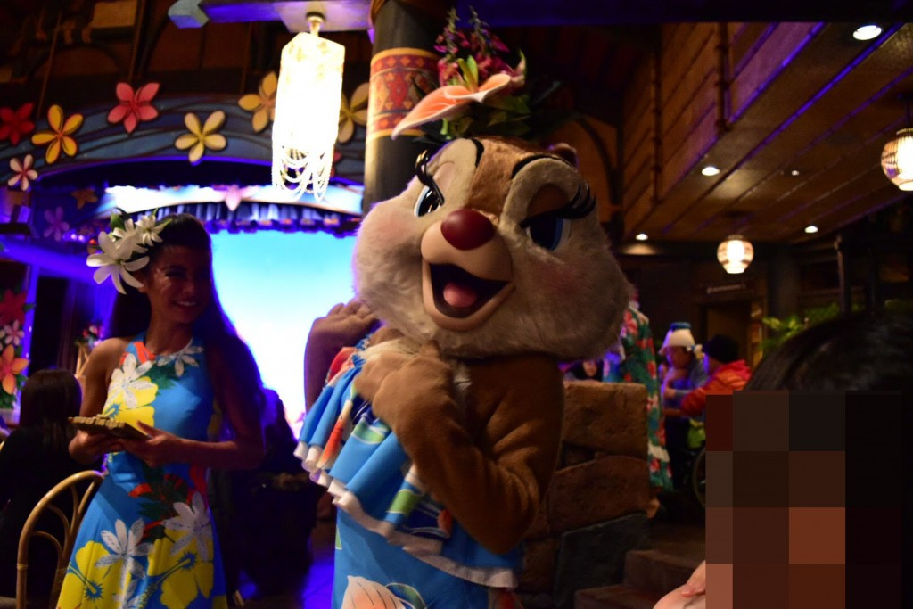東京ディズニーランド ショーレストラン ポリネシアンテラス・レストラン ディナーショー「ミッキーのレインボー・ルアウ」のメニューや口コミレポート