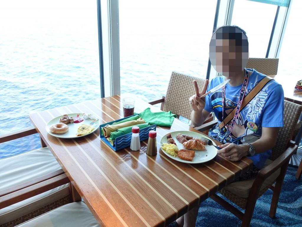 WDW旅行記ブログ/DCL旅行記ブログ 朝食ブッフェ カバナのメニュー