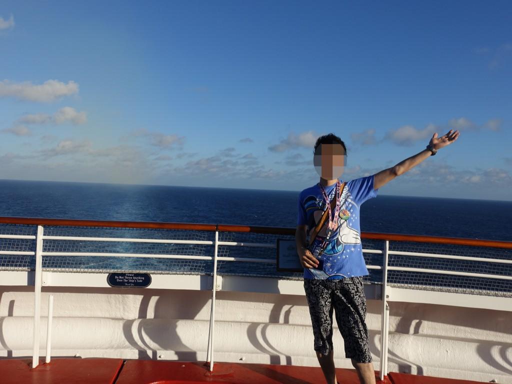 WDW旅行記ブログ/DCL旅行記ブログ ディズニードリーム号 プールやバーなどの施設紹介