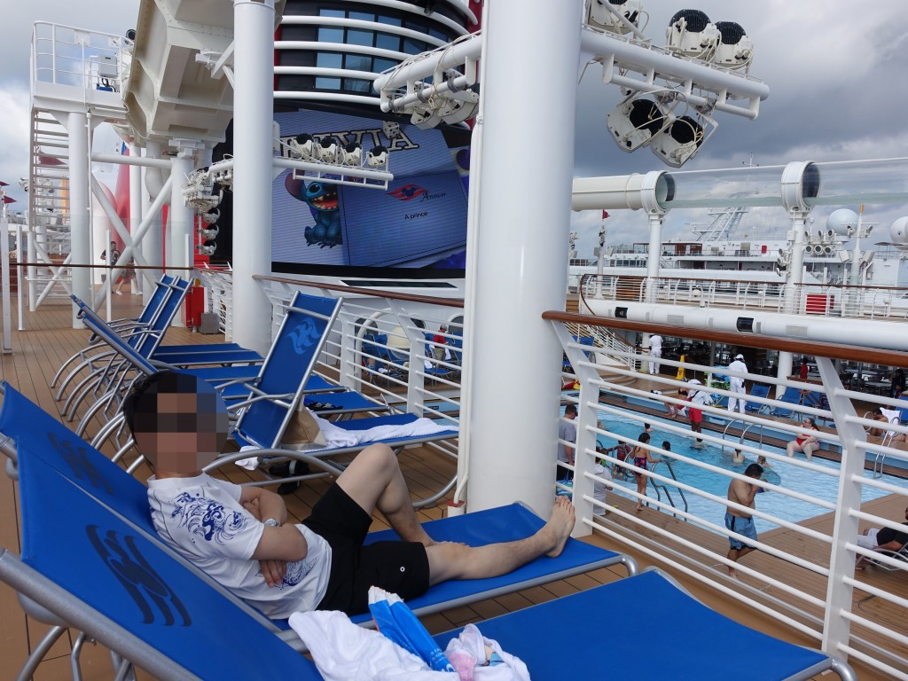 WDW旅行記ブログ/DCL旅行記ブログ ディズニークルーズライン4泊バハマ航路 アクアダック・プールを満喫!