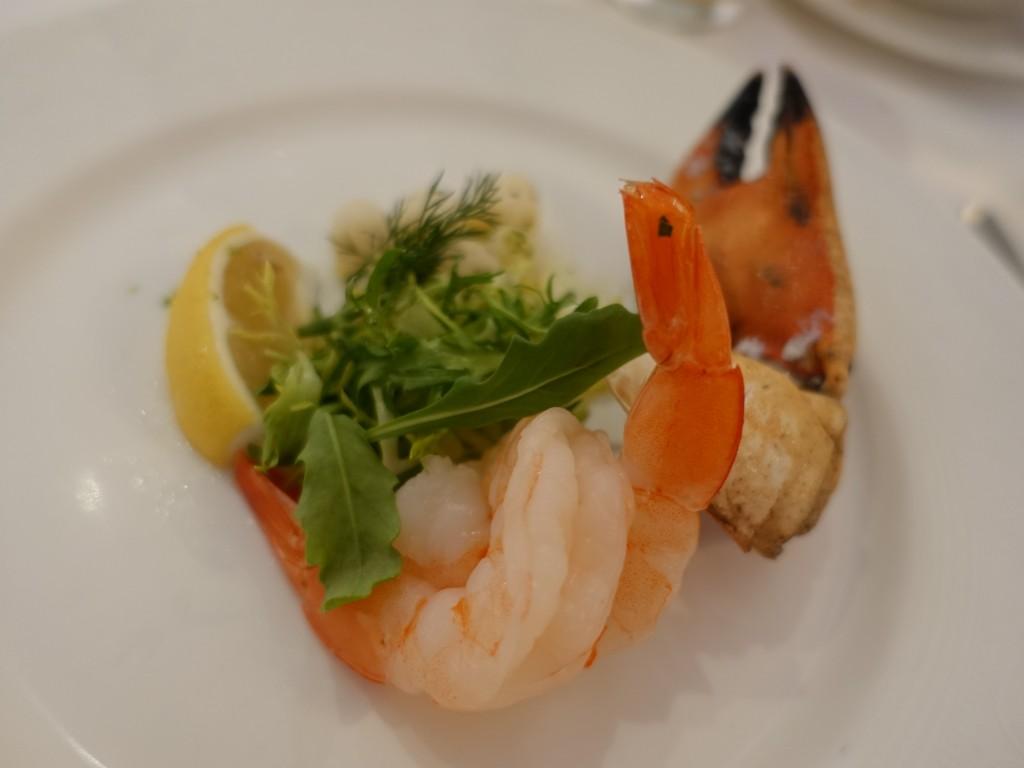 WDW旅行記ブログ/DCL旅行記ブログ ディズニークルーズライン4泊バハマ航路 ロイヤルパレスでランチコース(昼食)